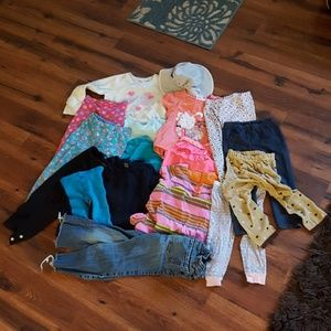 Girl's 5T clothing bundle